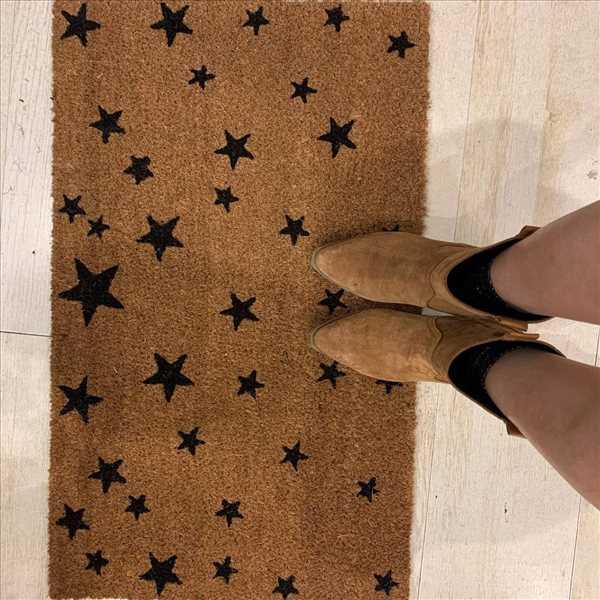 שטיח קוקוס כוכבים