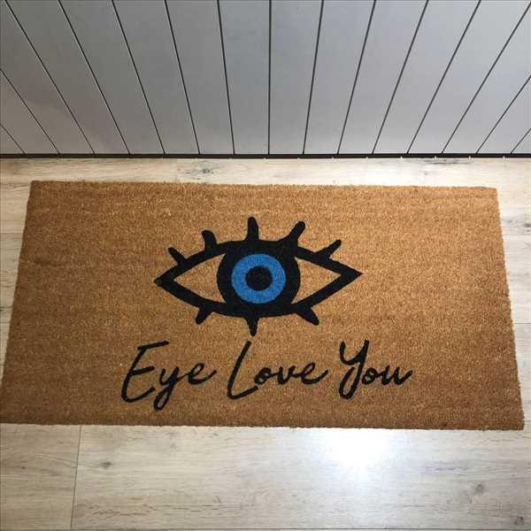 שטיח Eye love you במבוק